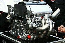 Formel 1 - Eine riesige Herausforderung: Renault: 2012 starten Testl�ufe mit V6-Motoren