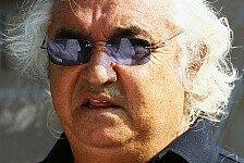 Formel 1 - Gewinn ohne Fahrer erwirtschaften: Briatore kann Paydrivern nichts abgewinnen