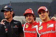 Formel 1 - Gut f�r den Lebenslauf: Jones r�t Webber zu Ferrari-Wechsel