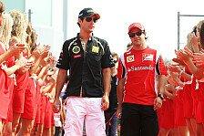 Formel 1 - Senna hält Massa die Daumen