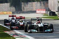 Formel 1 - Schumacher h�tte Strafe verdient: Daly �rgert sich �ber Monza-Entscheidung
