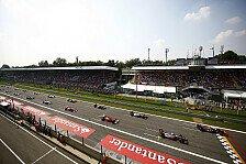 Formel 1 - Sonnige Aussichten: Wetterprognose f�r den Italien GP