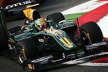 GP2 - In traditionellem Schwarz und Gold: Neuer Teamname: Aus ART wird Lotus