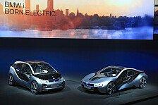 Auto - Vision�re Fahrzeuge : Weltpremiere: BMW i3 Concept und BMW i8 Concept