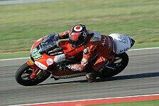 Moto3 - Erster Test f�llt flach: Rins verletzt sich im Training