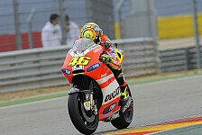 MotoGP - So lassen sich Front-Probleme l�sen: Fahrposition f�r Rossi entscheidendes Element