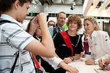 DTM - Zeit f�r die Fans eingeplant: Fan-Service - Frey auf der Automesse in Erfurt
