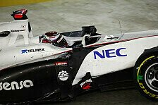 Formel 1 - Das Pech absch�tteln: Kobayashi will beim Heim-GP gute Show zeigen
