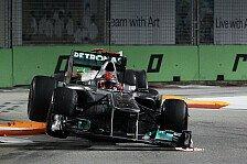Formel 1 - Ein wunderbar ungew�hnlicher Grand Prix: Mercedes guten Mutes nach Singapur