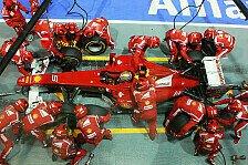 Formel 1 - Auch Suzuka k�nnte schwierig werden: Ferrari: Im Moment nur dritte Kraft