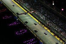 Formel 1 - Wer l�st das Reifen-R�tsel: Strategie-Poker in Singapur