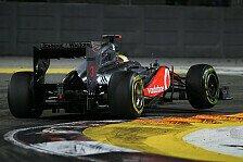 Formel 1 - Talent verschwendet: Herbert: Hamiltons McLaren-Sitz in Gefahr