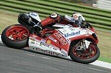 Superbike - Sandi bekommt gutes Gef�hl: Pedercini mit Test in Almeria