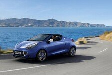 Auto - Coup�-Roadster ab sofort auch im Racing-Look: St�rmische Gordini-Version: Renault Wind