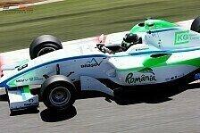 Formel 2 - Ein Deutscher auf der Insel ganz vorne: Testfahrten in Silverstone: Pommer voran