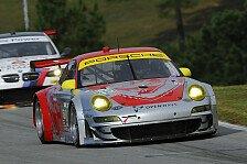 USCC - Flying Lizard schafft Sprung auf das Podest: Porsche mit Platz zwei zur Vizemeisterschaft