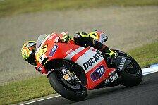 MotoGP - 90 Grad schr�nken ein: Rossi: Vielleicht hilft neuer Motor