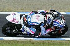 Moto2 - Nur wenige wagten sich auf die Strecke: Limitierte Testfahrten im spanischen Regen