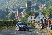 WRC - Sordo k�mpft & holt auf: Rallye Frankreich: Ogier weiterhin in F�hrung