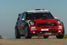 WRC - Platz zwei als Belohnung: Starke Vorstellung von Mini in Frankreich