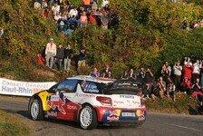 WRC - Trug die ganze Last des Teams: Ogier froh �ber Frankreich-Sieg