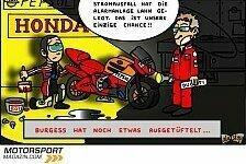 MotoGP - Verdunkelungsgefahr bei Ducati: Neuer Comic: Rossis Nachtschicht