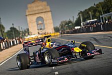 Formel 1 - Red Bull absolviert Showrun in Indien