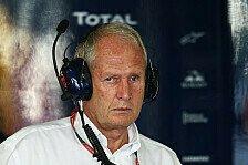 Formel 1 - Kleiner und eleganter Knick: Marko: Red Bull nicht so h�sslich wie Ferrari