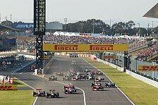 Formel 1 - Warwick dient als Fahrersteward: DRS-Zone in Suzuka verk�rzt