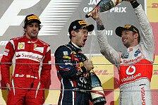 Formel 1 - Rosberg vor Webber: Teamchefs k�ren Vettel zum besten Piloten 2011