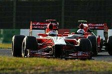 Formel 1 - F�r 2012 bereits im Hintertreffen?: Virgin: Zweiter Neuanfang braucht Zeit