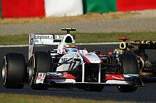 Formel 1 - Platz sechs in Reichweite: Sauber: Neue Zuversicht durch neue Teile