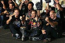 Formel 1 - Pressekonferenz in Tokyo: Video - Vettel, Newey und Horner zum WM-Sieg