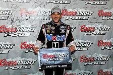 NASCAR - Trevor Bayne meldet sich zur�ck : Erste Saison-Pole f�r Tony Stewart