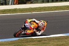 MotoGP - Es raucht: Video - Stoner driftet auf Phillip Island