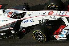 Formel 1 - Kobayashi freut sich auf sein Lieblingsessen: Sauber: Voller Vorfreude nach Indien