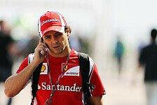 Formel 1 - Trauer um Wheldon und Simoncelli: Massa: Wir kennen immer das Risiko