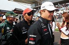 Formel 1 - Eine Legende als Meisterst�ck: Hamilton: Mercedes ist Rosbergs Team