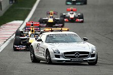 Formel 1 - Mayl�nder gibt die Pace vor: Video - Indien Teil II: Safety Car