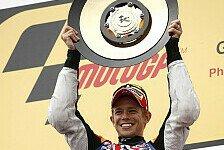 MotoGP - Stimmen der besten Drei