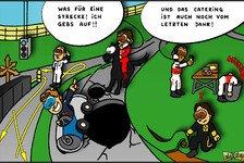 Formel 1 - Gefahrenzone am Ende der Welt: Neuer Comic: Strecken-Chaos in Korea