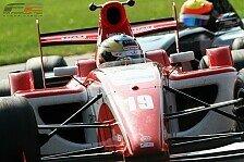 Formel 2 - Bestzeit am zweiten Testtag in Barcelona: Zanella beendet das Jahr an der Spitze