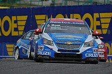 WTCC - Muller leistet sich Fahrfehler: Menu & Huff holen Poles in China
