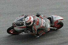 Moto3 - Bedingungen brachten �berraschung: Webb in letztem 125cc-Qualifying auf Pole