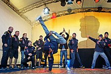 Formel 1 - Bilder: Vettel-Party in Heppenheim