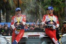 WRC - Nicht hier, um Vierter oder F�nfter zu werden: F�r Loeb schlie�t sich in Spanien ein Kapitel
