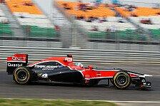 Formel 1 - Angemessene Trainingszeiten: Glock darf beim Indien GP starten