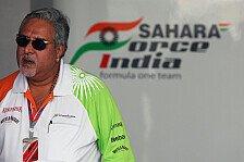Formel 1 - Gegen Kaution frei: Mallya in Indien vor Gericht