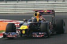 Formel 1 - Erste Reihe f�r Red Bull: Vettel holt erste Pole in Indien