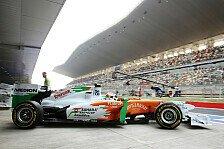 Formel 1 - In Erwartung eines historischen Moments: Di Resta: Untersteuern in schnellen Kurven